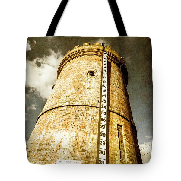 Historic Water Storage Structure Tote Bag
