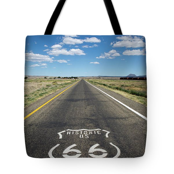 Historica Us Route 66 Arizona Tote Bag