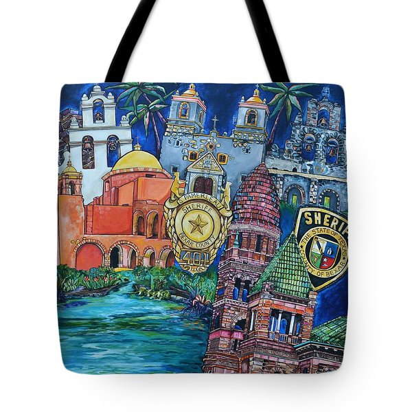 Historical 401s San Antonio Tote Bag