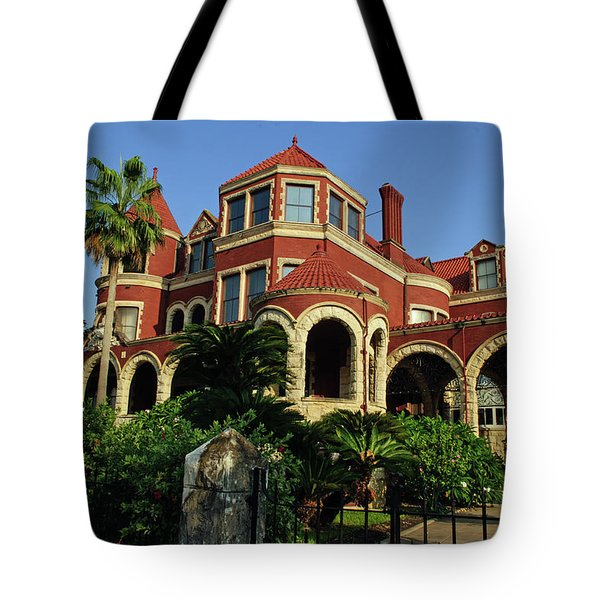 Tote Bag featuring the photograph Historical Galveston Mansion by Tikvah's Hope