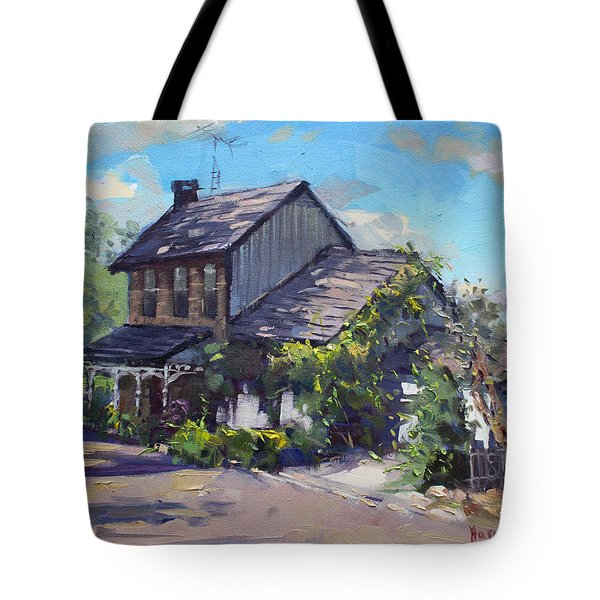Historical House Ontario Tote Bag