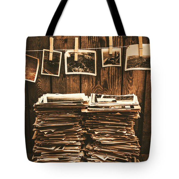 Historical Picture Archive Tote Bag