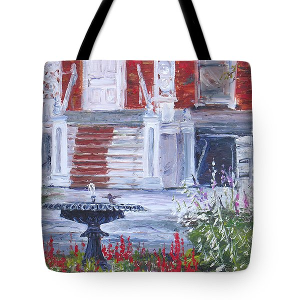 Historical Society Garden Tote Bag