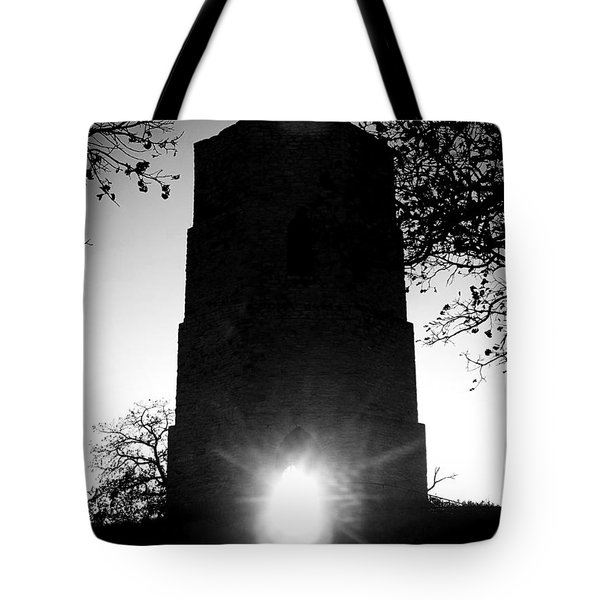 Historical Water Tower At Sunset Tote Bag