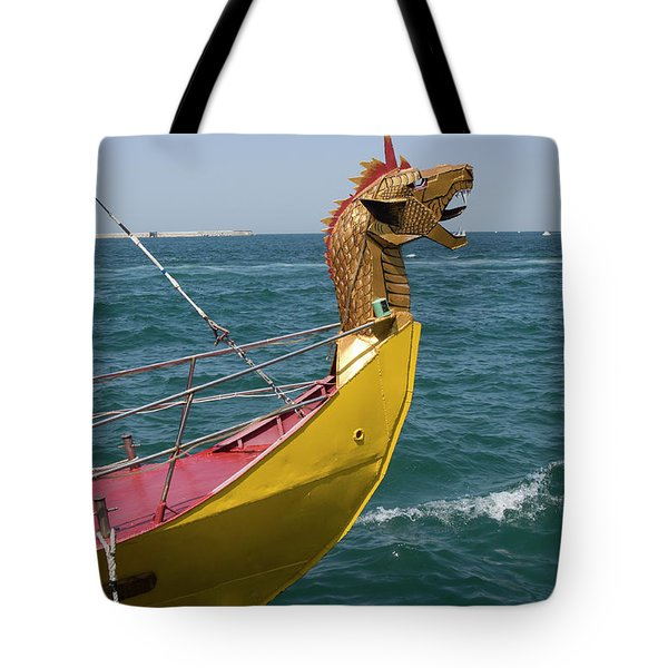 Historical Yacht Tote Bag