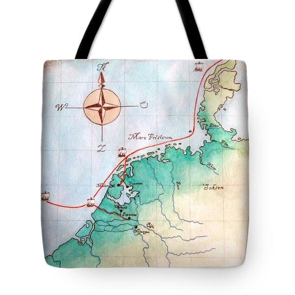Magna Frisia- Frisian Kingdom Tote Bag