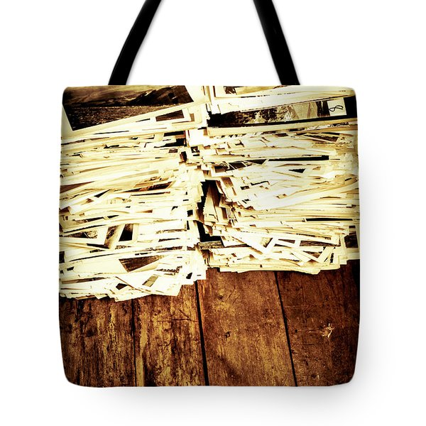 History In Photos Tote Bag