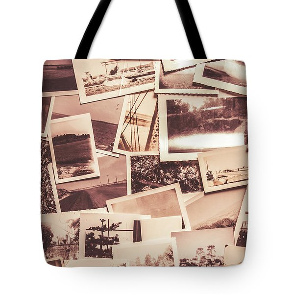 History In Still Photographs Tote Bag