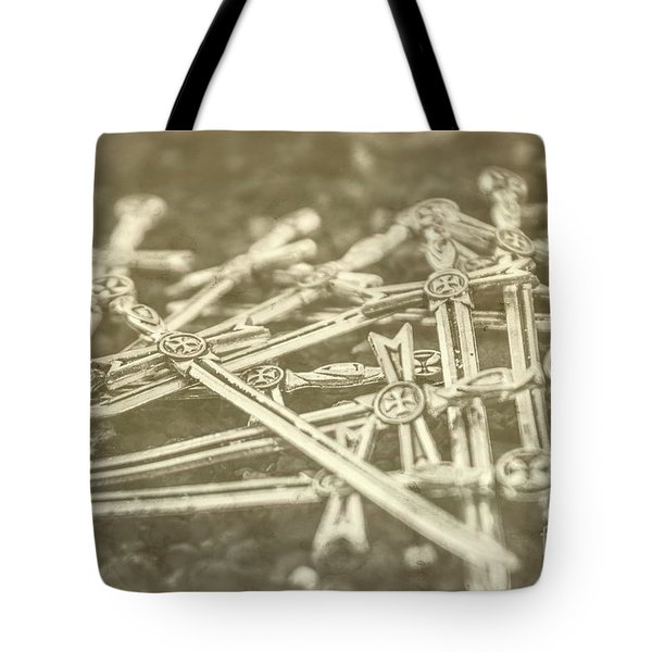 History Of The Sword Tote Bag