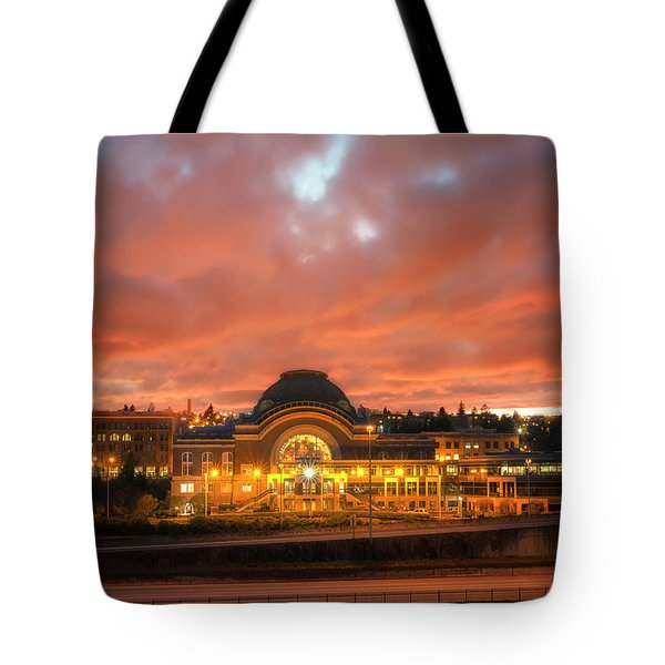 History On Fire Tote Bag