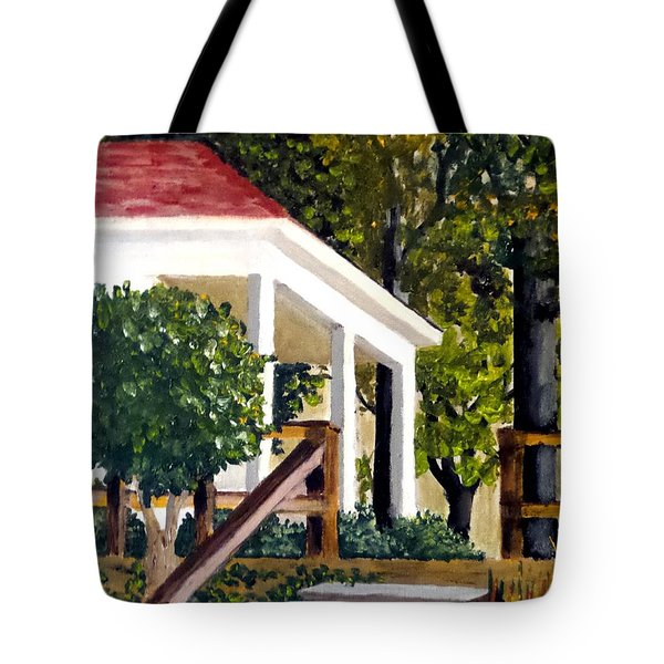 History Still Stands Tote Bag
