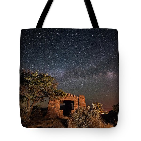 Tote Bag featuring the photograph History Under The Stars by Melany Sarafis