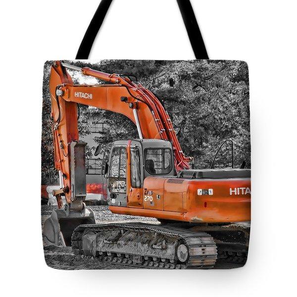 Hitachi Zaxis 270 Tote Bag