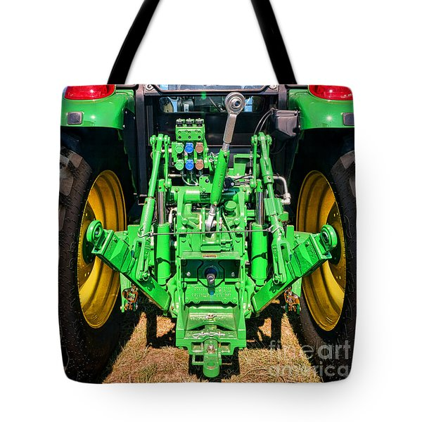 Hitch A Deere  Tote Bag