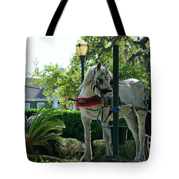 Hitched And Ready Tote Bag by Bruce Gourley