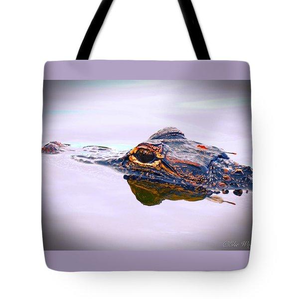 Hitchin A Ride Tote Bag