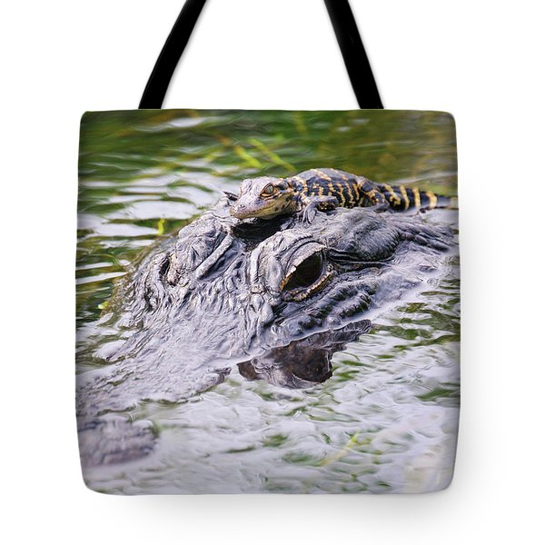 Hitchin' A Ride. Tote Bag