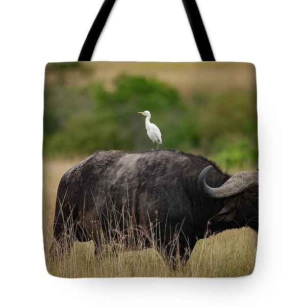 Hitching A Ride Tote Bag