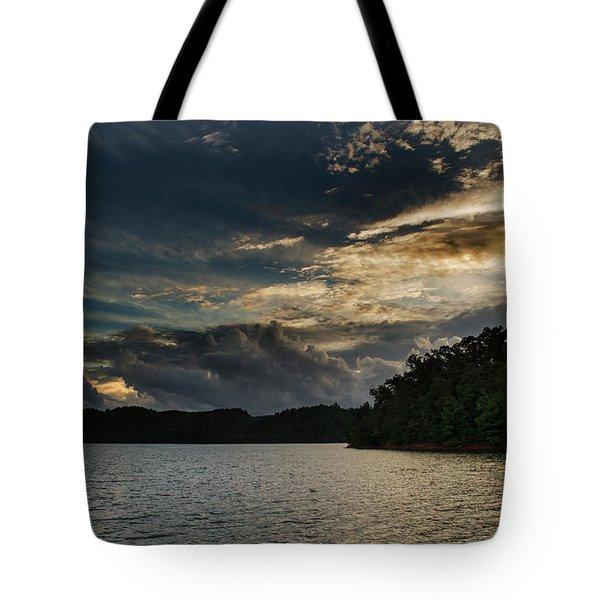Hiwassee Lake From Hanging Dog Recreation Area Tote Bag