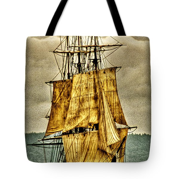 Hms Bounty Tote Bag by David Patterson