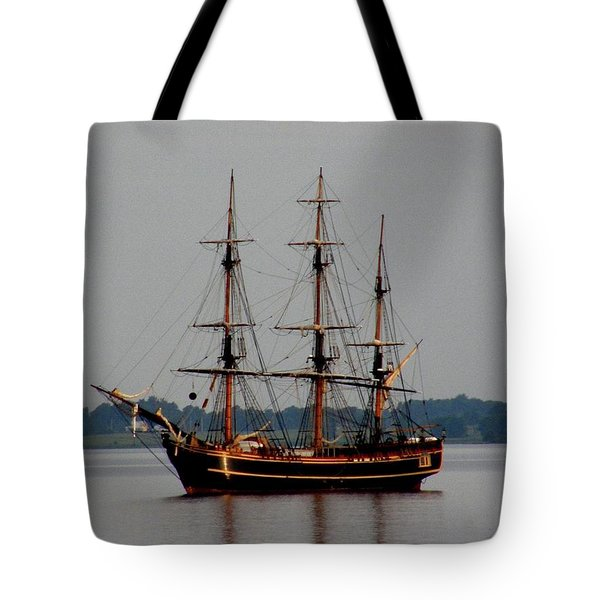 Hms Bounty  Tote Bag