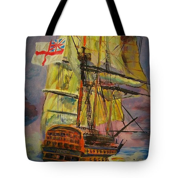 Hms Hero Tote Bag