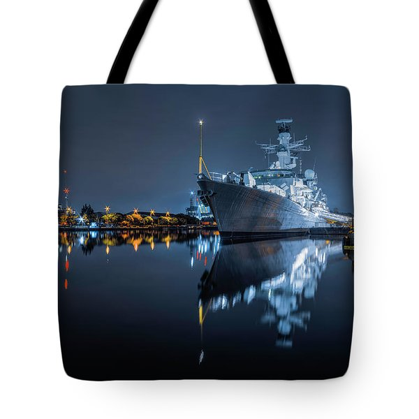 Hms Westminster Tote Bag