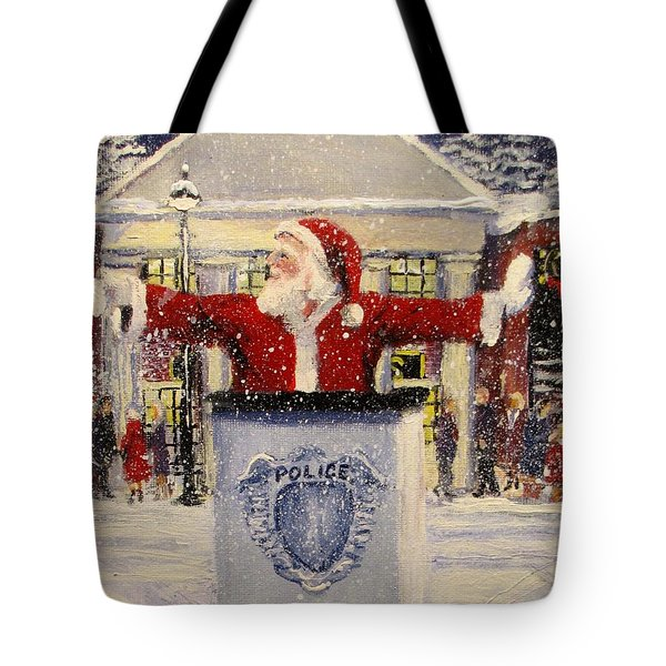Ho Ho Go... Tote Bag by Jack Skinner