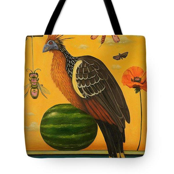 Hoatzin 2 Tote Bag