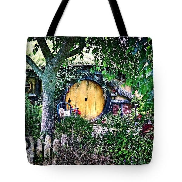 Hobbit Bungalow Tote Bag