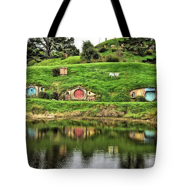 Hobbit By The Lake Tote Bag