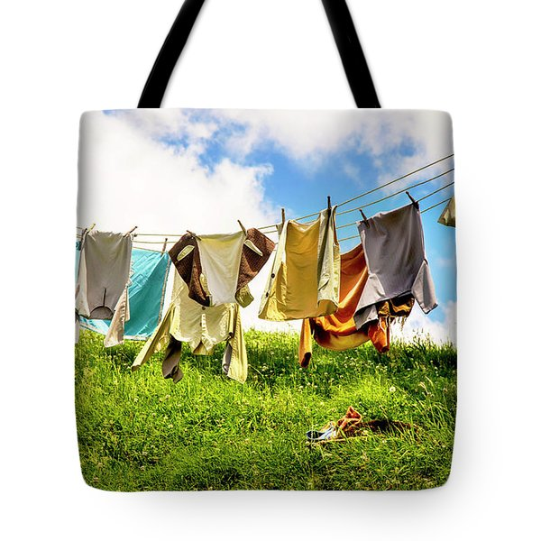 Hobbit Clothesline Tote Bag