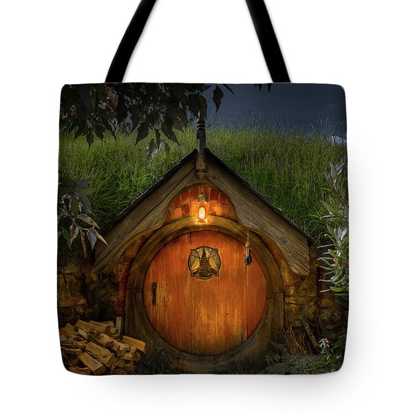 Hobbit Dwelling Tote Bag