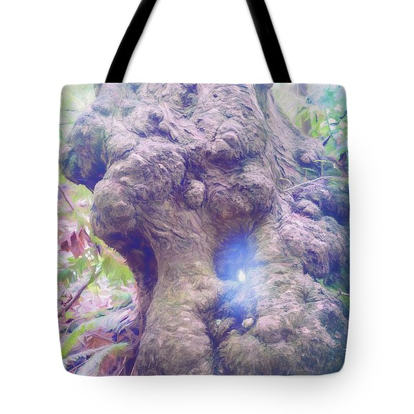 Tote Bag featuring the photograph Hobbit House by Jean OKeeffe Macro Abundance Art