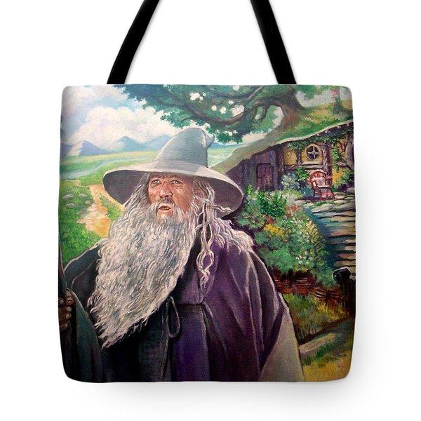 Hobbit Tote Bag by Paul Weerasekera