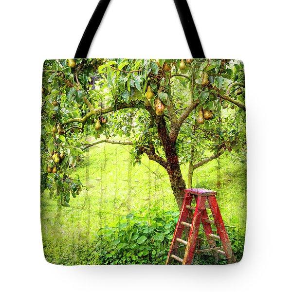 Hobbit Pear Tree Tote Bag