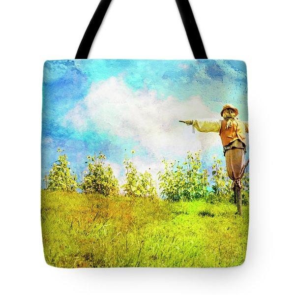 Hobbit Scarecrow Tote Bag