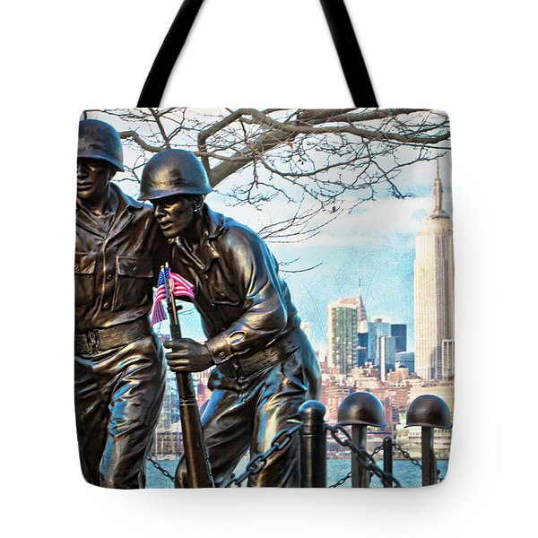 Hoboken War Memorial Tote Bag