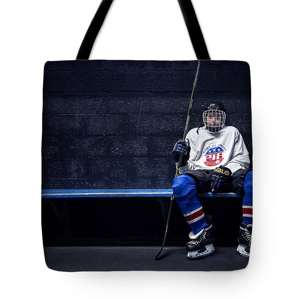 Hockey Strong Tote Bag