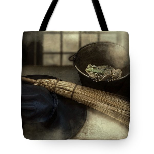 Tote Bag featuring the photograph Hocus Pocus by Robin-Lee Vieira