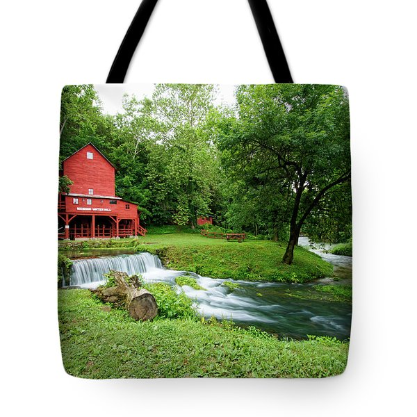 Hodgson Water Mill And Spring Tote Bag