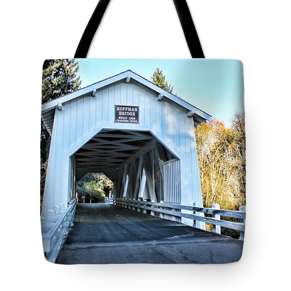 Hoffman Covered Bridge Tote Bag