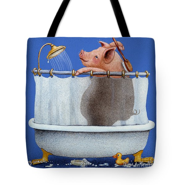 Hog Wash Tote Bag