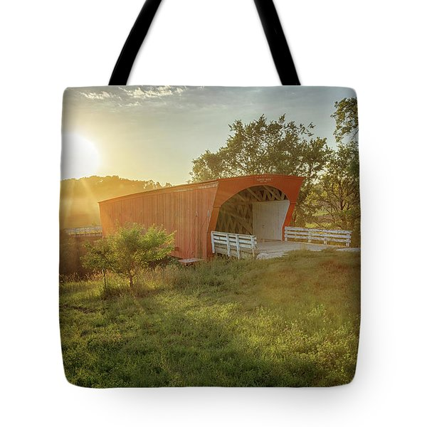 Hogback Covered Bridge 2 Tote Bag