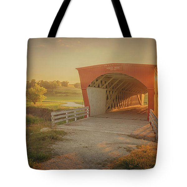 Hogback Covered Bridge Tote Bag