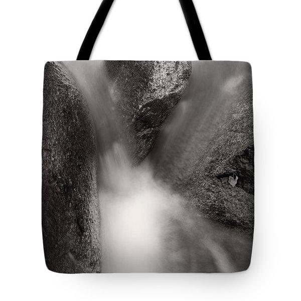 Hogback Creek And Granite Inyo Natl Forest Bw Tote Bag