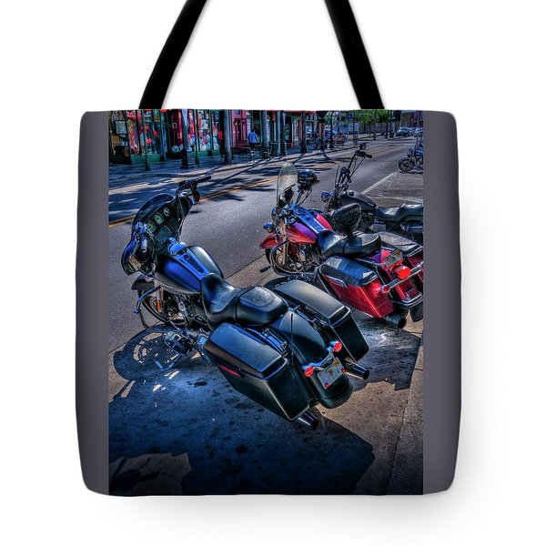 Hogs On 7th Ave Tote Bag