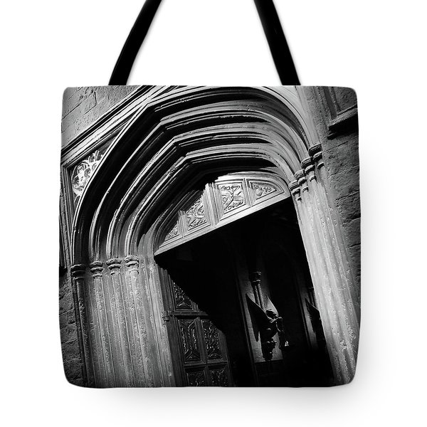 Hogwards Door  Tote Bag by Gina Dsgn