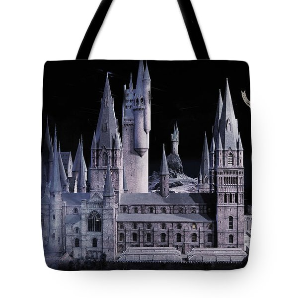 Hogwards School  Tote Bag by Gina Dsgn