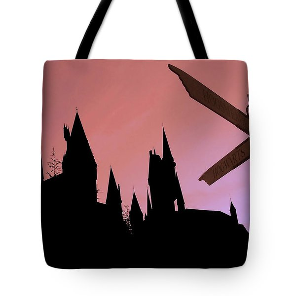 Tote Bag featuring the photograph Hogwarts Castle by Juergen Weiss
